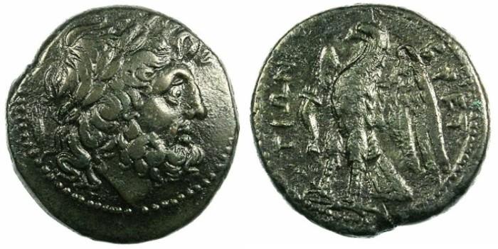Ancient Coins - BRUTTIUM.Bretti.C.282-203 BC.AE.21