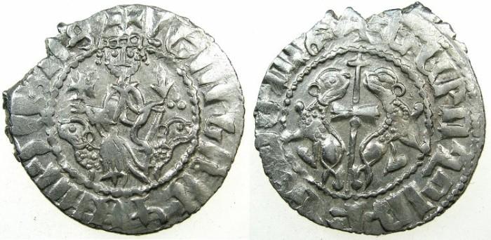 World Coins - CILICIAN ARMENIA.Levon I AD 1198-1219.AR.Tram.