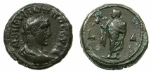 Ancient Coins - EGYPT.ALEXANDRIA.Phillipus Arabus AD 244-249.Billon Tetradrachm.struck AD 246/47.~#~.Elpis.