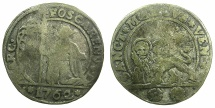 World Coins - ITALY.VENICE.Marco Foscari 1762-1763.Billon 15 soldi 1762.