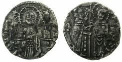 World Coins - ITALY.VENICE.Francesco Foscari AD 1423-1457.AR.Grosso.Mint assayer Zuanne Zorzi