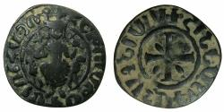 World Coins - ARMENIA, Cilician kingdom.Hetoum I AD 1226-1270.AE.Tank.Mint of SIS.