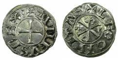 World Coins - SPAIN.Castile and Leon. Alfonso VI 1073-1109.Billon.Dinero.Mint of LEON. *** RARE ***