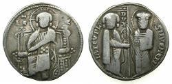 World Coins - ITLAY.VENICE.Iacobo Tiepolo AD 1229-1249.AR.Grosso.