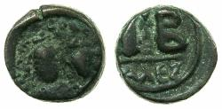 Ancient Coins - BYZANTINE EMPIRE.Heraclius AD 610-641.AE.12 Nummia. Mint of ALEXANDRIA.