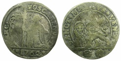 World Coins - ITALY.VENICE.Marco Foscari 1762-1763.Billon 15 soldi 1762.