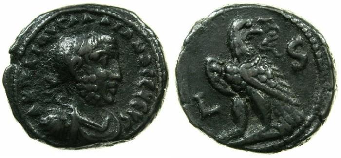 Ancient Coins - EGYPT.ALEXANDRIA.Gallienus AD 253-268.Billon Tetradrachma, struck AD 258/259.~#~.Eagle.