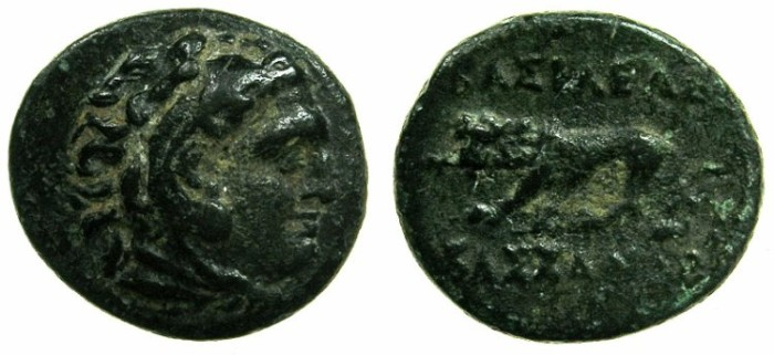 Ancient Coins - MACEDON.Kingdom.Cassander 316-297 BC.AE.17mm.