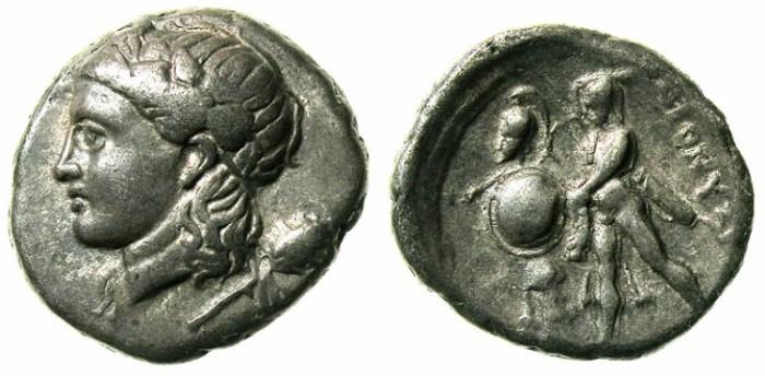 Ancient Coins - HERACLEA PONTICA. Dionysius c.337-305 BC.AR.Didrachm.Dionysus.Herakles.