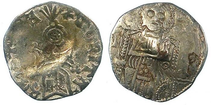 Ancient Coins - SERBIA.Stefan VIII Uros IV Dusan, as King 1331-1326.AR.Dinar.