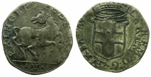 World Coins - SAVOY.Carlo Emanuele I AD 1580-1630.Billon Cavallotto 1587. 1st Type.