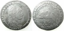 World Coins - ITALY.SICILY.Ferdinando III King of Sicily 1759-1816.AR. 12 Tari 1810. Mint of PALERMO.