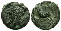 Ancient Coins - NUMIDIA.Massinissa or Micipsa circa 203-148-118 BC.AE.25.4mm