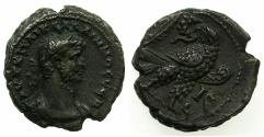 Ancient Coins - EGYPT.ALEXANDRIA.Gallienus AD 253-268.Billon Tetradrachm, struck AD 267/68.~#~.Eagle on thunderbolt.