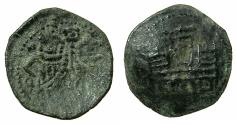 World Coins - BULGARIA.Ivan Alexander and Mikhail Asen AD 1337-1380.AE.Trachy. Turnovo mint.