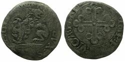 World Coins - ITALY.SAVOY.Carlos II AD 1504-1553.Billon.Grosso di Piemonte.