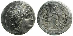 Ancient Coins - CAPPADOCIAN Kingdom.Ariarathes VIII, Ariarathes IX or Ariobarzanes I c.99-80 BC.Issue in the name of Antiochus VII of Syria (138-129 BC).AR.Tetradrachm.