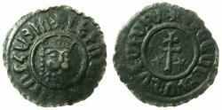 World Coins - ARMENIA, Cilician kingdom. Levon I 1198-1219.AE.Tank.Mint of SIS.