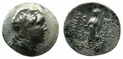 Ancient Coins - CAPPADOCIA.Ariathes IV Eusebes 210-163 BC.AR.Drachma, dated regnal year 33 177/76 BC.
