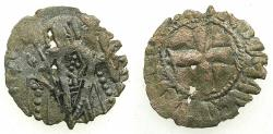 Ancient Coins - BYZANTINE EMPIRE.Andronicus II Sole reign AD 1282-1328.BillonTornese.Mint of CONSTANTINPLE.