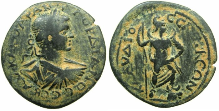 Ancient Coins - PISIDIA.SELEUCEIA.Gordian III AD 238-244.AE.27.3mm.~#~.Men standing right.