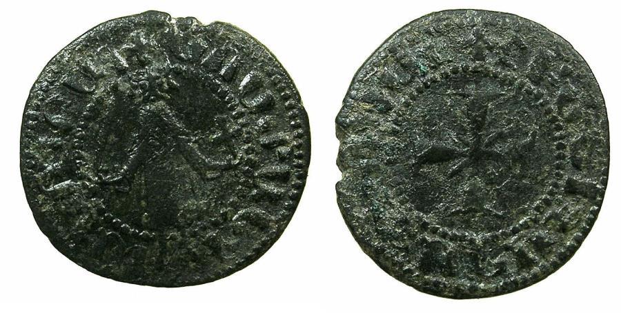 World Coins - ARMENIA, Cilician kingdom. Gosdantin I AD 1298-1299.AE.Kardez.Mint of SIS.