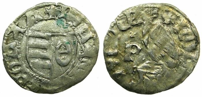 World Coins - ROMANIA.VOIVODES OF WALLACHIA.Dan I 1383-1386.Denier.