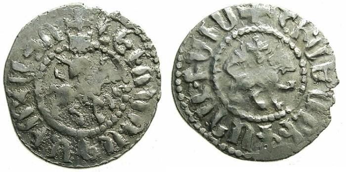 Ancient Coins - ARMENIA.Levon IV 1320-1342.AR.Takvorin.Mint of Sis.Sigla L - M.
