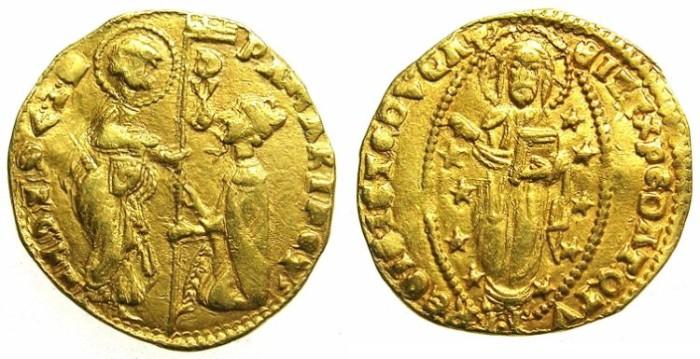 Ancient Coins - ITALY.VENICE.Pasquale Malipiero AD 1457-1462.AV.Ducat.