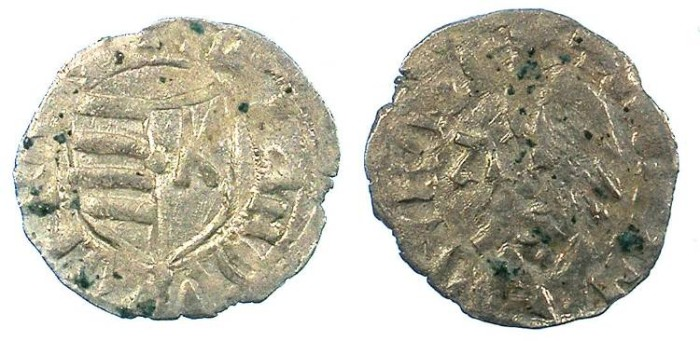 Ancient Coins - ROMANIA.VOIVODES OF WALLACHIA.Dan I 1383-1386.Bi.Denier