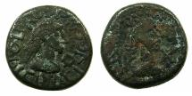 Ancient Coins - BOSPORUS, Kingdom. Rheskaporis VI AD 318-342.AE.18.9mm.struck AD 324-25