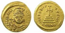 Ancient Coins - BYZANTINE EMPIRE.Heraclius AD 610-641. AV.Solidus. Mint of CONSTANTINOPLE.
