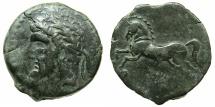 Ancient Coins - NUMIDIA.Massinissa or Micipsa circa 203-148-118 BC.AE.25.7mm