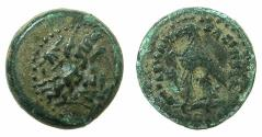 Ancient Coins - PTOLEMAIC EMPIRE.Ptolemy III Euergetes I 246-221 BC.AE.12.9mm. Unknown mint in Asia Minor.