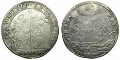 World Coins - VENICE.Silvestro Valiero AD 1694-1700.AR.Osella Year 1 ( 1694 ). ***Commemorating the conquests of Chios and Narenta