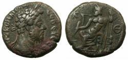 Ancient Coins - EGYPT.ALEXANDRIA.Commodus AD 180-192.Billon Tetradrachma, struck AD 188/89. Rev. Zeus enthroned holding thunderbolt