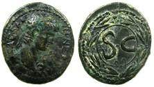 Ancient Coins - SYRIA.SELEUCIS AND PIERIA.ANTIOCH.Nero AD 54-68.AE.26mm.