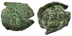 Ancient Coins - BYZANTINE EMPIRE.SICILY.Constans II AD 641-668.AE.Follis.Mint of SYRACUSE