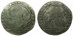 World Coins - ITALY.VENICE.Anonymous issue ( Lodovico Manin 1789-1797 ).AR.Lirazza da Trente soldi. 1796.