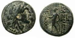 Ancient Coins - SYRIA.Seleucid Empire.Alexander I Balas 150-145 BC.AE.Mint of Antioch.