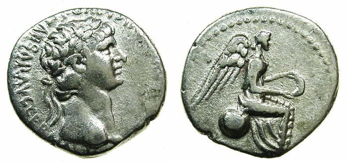 Ancient Coins - CAPPADOCIA.Caesarea Eusebia.Nero AD 54-68.AR.Hemi Drachm.