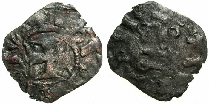 World Coins - CRUSADER STATES.GREECE.EPIRUS.John II Orsini AD1323-1335. Bi.Denier.Struckat ARTA.