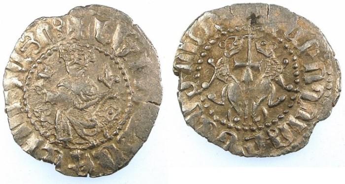 Ancient Coins - CILICIAN ARMENIA.Levon I AD 1199-1219.AR.Tram