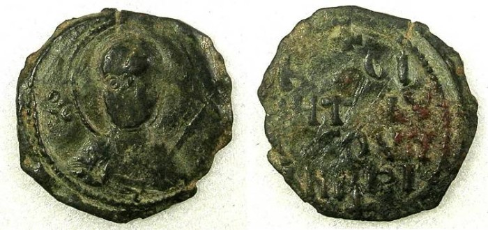 Ancient Coins - Crusader Antioch Tancred  AD 1104-1112 AE Follis