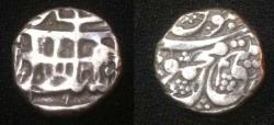 World Coins - Durrani Mehmood Shah AD 1213-1218. AR 1/4 rupee.Rare.