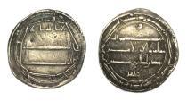 World Coins - Abbasid dirham.Harun Al Rashid 170-193h.Muhammadyia 181h.