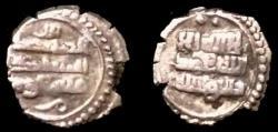 World Coins - Ghaznavid,Masud,1031-1041,AR 1/5 dirham struck in Sind and Multan.Rare.