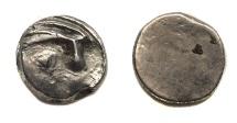 Ancient Coins - Early Sythian of Soghdiana.The Dadae.Ca Ist Century BC.AR drachm.