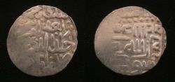 World Coins - Timurid with Mahmood khan Citing Mahmood khan Posthumously 800-803 AH. 1/2 Tanga.Rare.