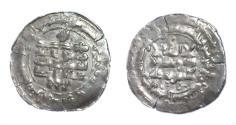 Ancient Coins - Samanid.Abd Al Malik bin Nuh.AH 343-350.Samarqand AH 344.AR dirham.